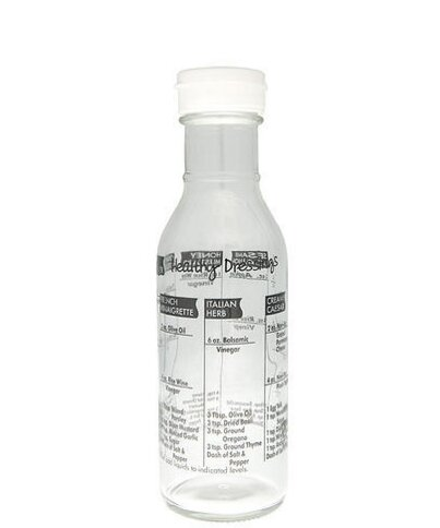 Glass Salad Dressing Bottle by Cuisinox