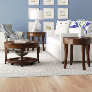 Locke 3 Piece Coffee Table Set Darby Home Co