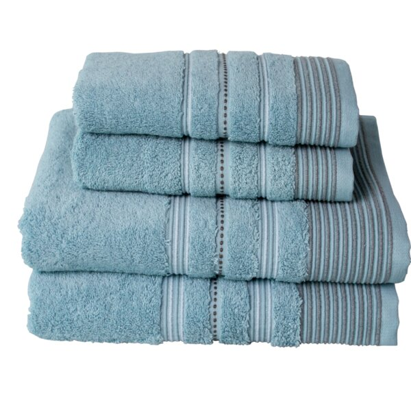 Chulmleigh 4 Piece Turkish Cotton Towel Set by Ebe