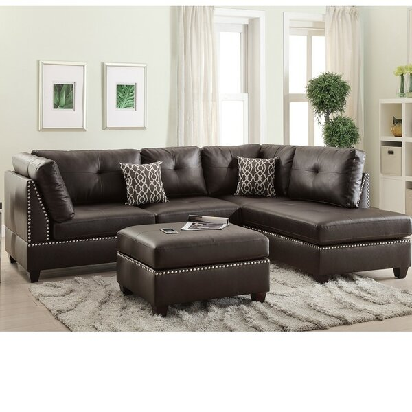 Marimon Right Hand Facing Modular Sectional With Ottoman By Red Barrel Studio