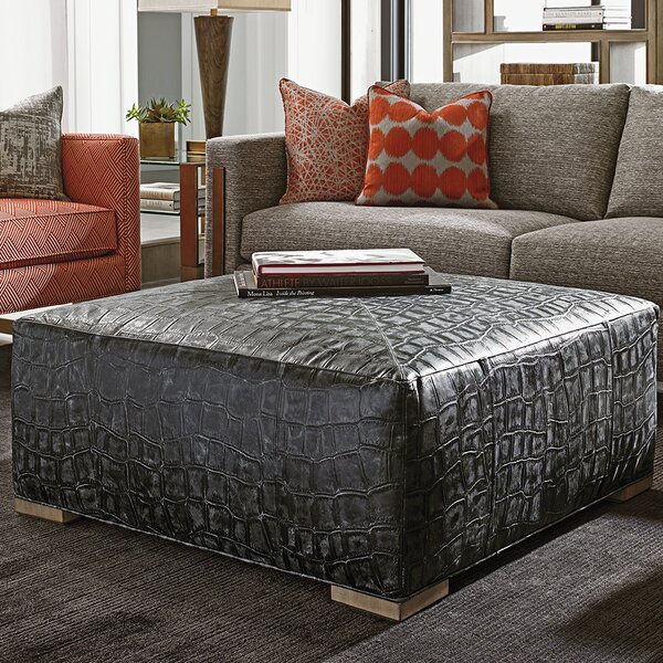 Shadow Play Cocktail Ottoman by Lexington