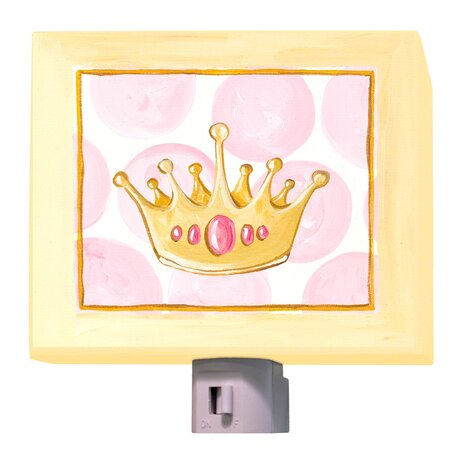 Pretty Princess Crown Night Light by Oopsy Daisy