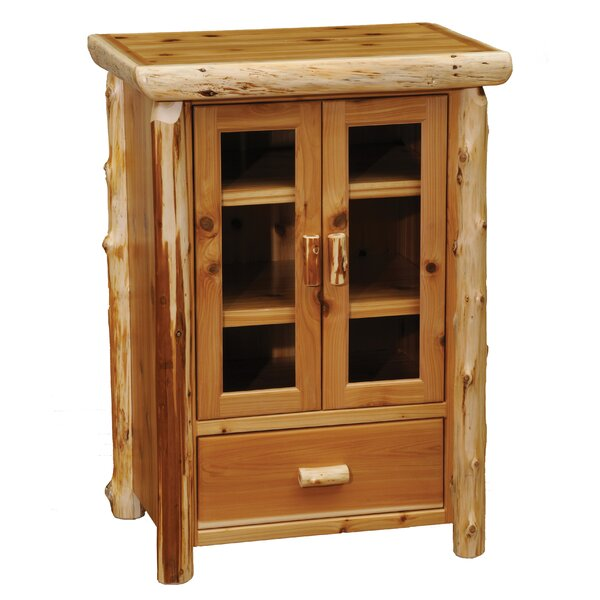Cedar 1 Drawer 2 Door Accent Cabinet by Fireside Lodge