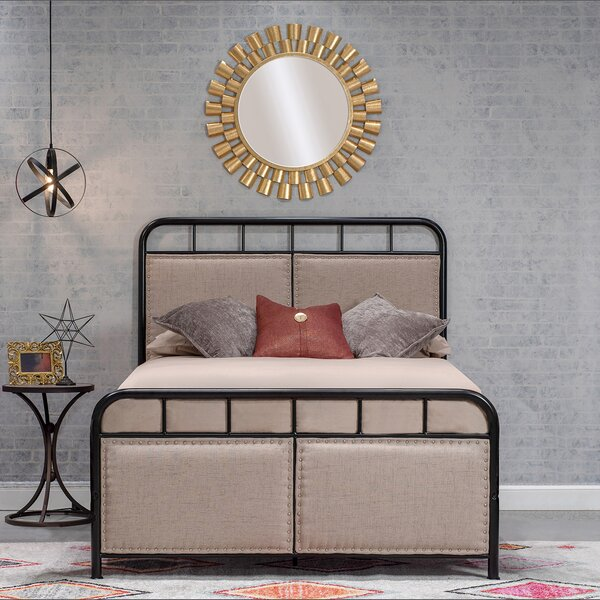 Espada Upholstered Standard Bed by Gracie Oaks