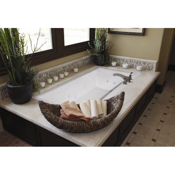 Designer Eileen 74 x 38 Soaking Bathtub by Hydro Systems