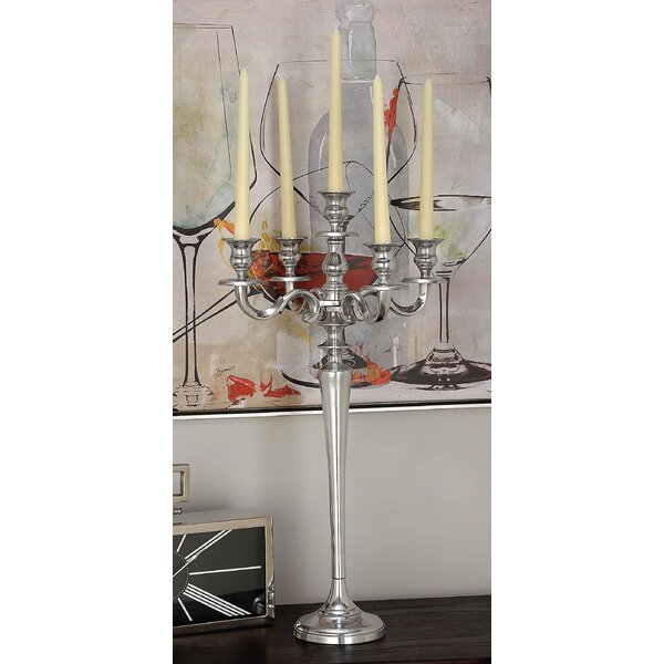 Aluminum Candelabra by Cole & Grey
