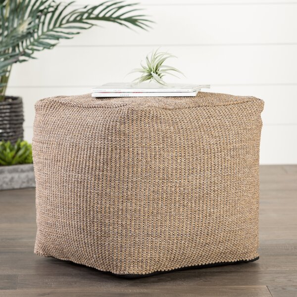 Espey Jonasson Outdoor Ottoman with Cushion by Bungalow Rose