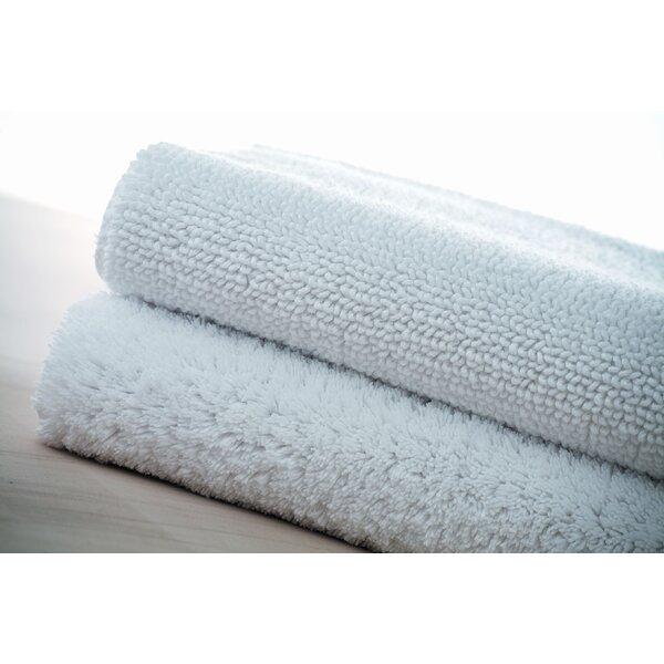 Hardage Rectangle 100% Cotton Non-Slip Bath Rug