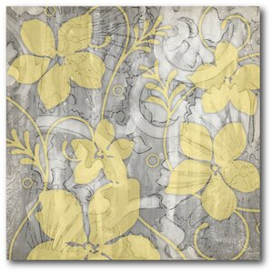 'Flower I' Graphic Art on Wrapped Canvas by Winston Porter