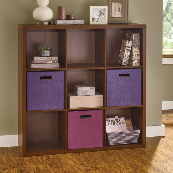 Decorative Storage Cube Bookcase By ClosetMaid