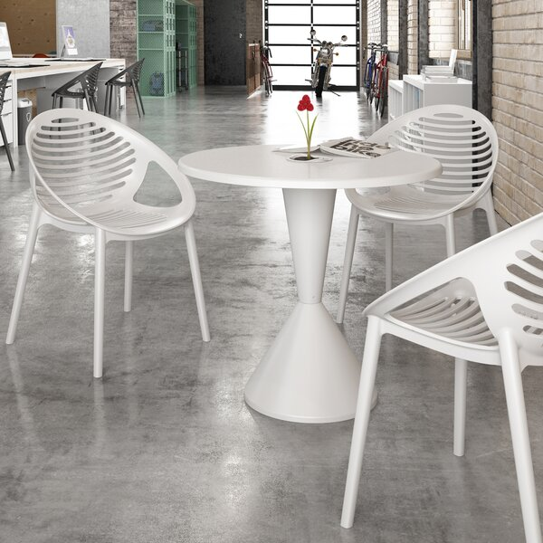 Expo Plastic/Resin Bistro Table by Diamond Sofa