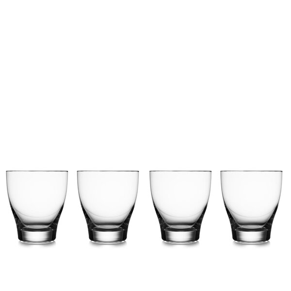 Vie Double Old Fashioned Cocktail Glasses (Set of 4) by Nambe
