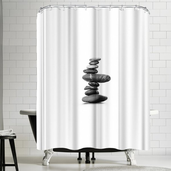 Balance Shower Curtain by East Urban Home