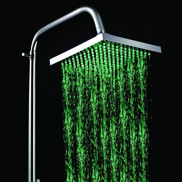 LED Rainfall Showerhead by Sumerain International Group