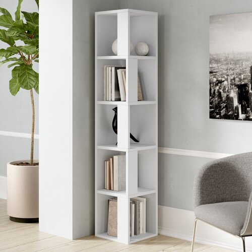 Cyril Corner Bookcase Zipcode Design