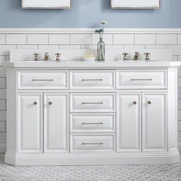 Oliphant Quartz 60 Double Bathroom Vanity Set