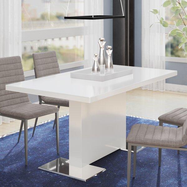 Plumville Dining Table by Wade Logan Wade Logan