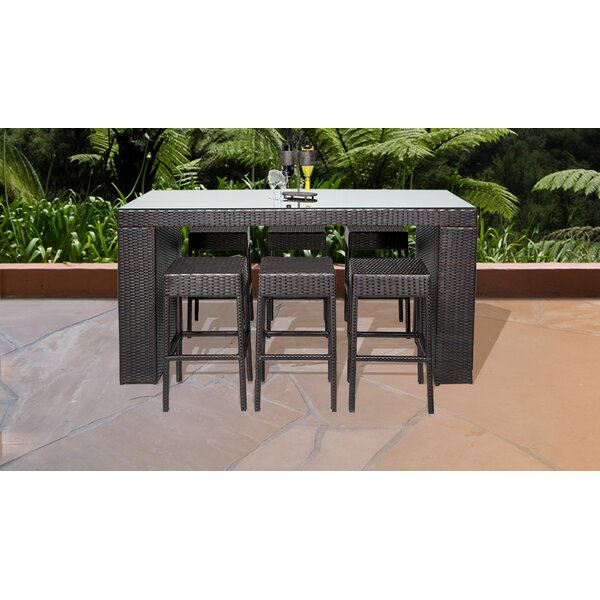 Napa 7 Piece Pub Table Set by TK Classics TK Classics