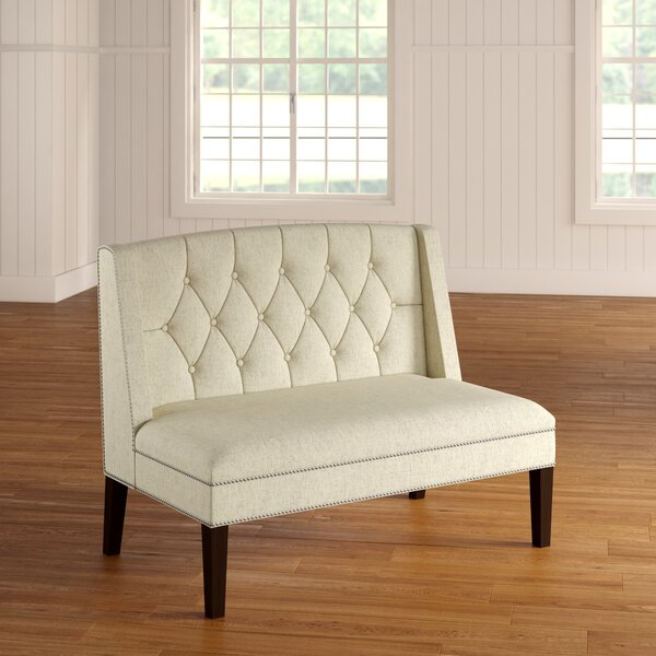 Saybrook Settee Loveseat by Alcott Hill