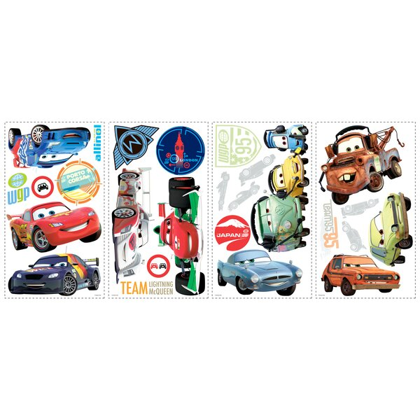 Disney Cars 2 Cutout Wall Decal by Wallhogs