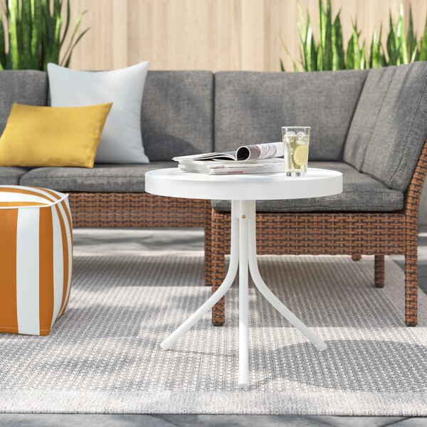 Darla Metal Side Table by Zipcode Design