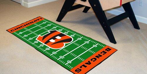 NFL - Cincinnati Bengals Football Field Runner by FANMATS