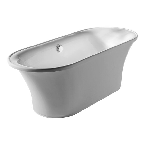Bathhaus 68.87 x 29.5 Freestanding Bathtub by Whitehaus Collection
