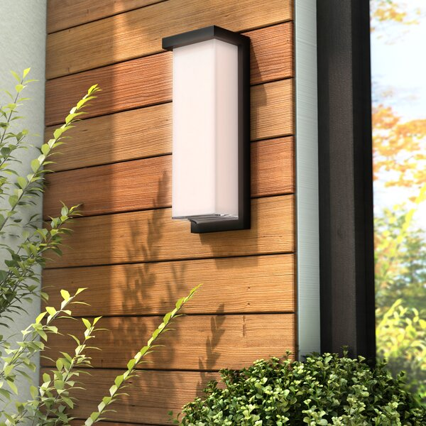 Henegar 1-Light Outdoor Flush Mount by Latitude Ru