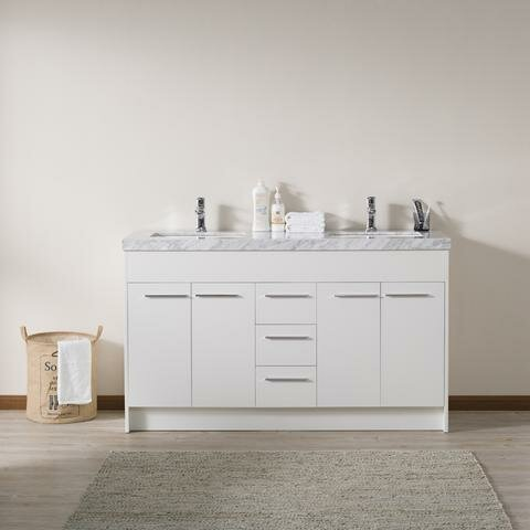 Jacob 60 Double Bathroom Vanity Set by Orren Ellis