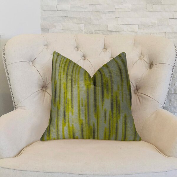 Pinceaux Handmade Throw Pillow by Plutus Brands