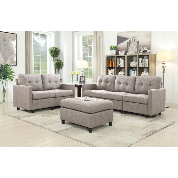 Signe 3 Piece Living Room Set by Brayden Studio