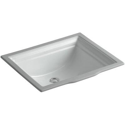 Undermount Sink Overflow Sink Grey 1065 Product Photo