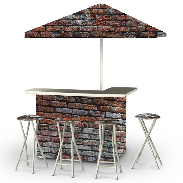 London Brick 6 Piece Bar Set by Best of Times