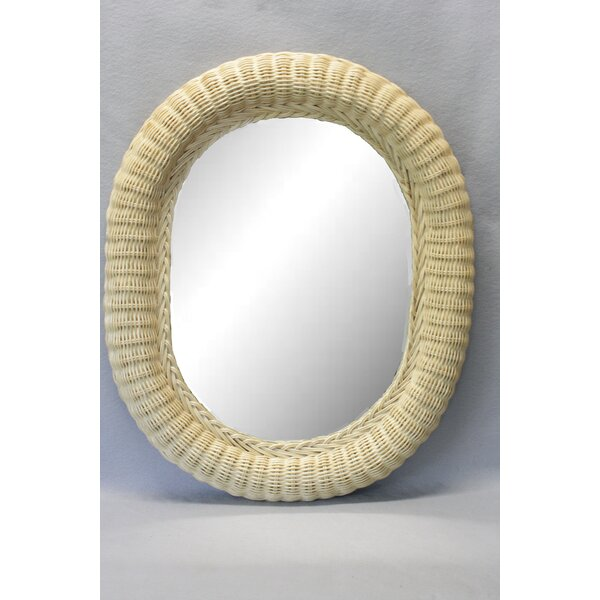 Choi Oval Edge Accent Mirror by Highland Dunes