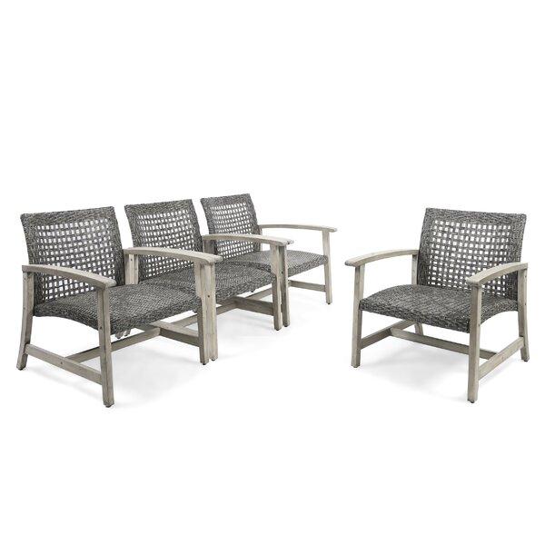 Bellbrook Patio Chair (Set of 4) by Mistana