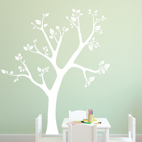 Tilted Tree Wall Decal by Sissy Little