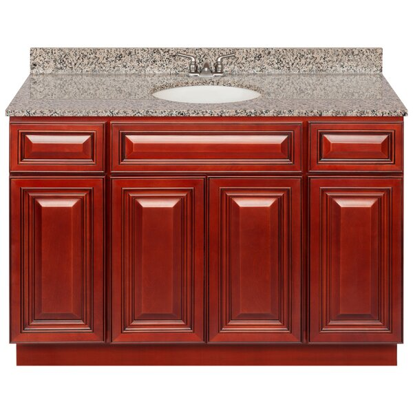 Kirkby 48 Single Bathroom Vanity Set by Charlton Home