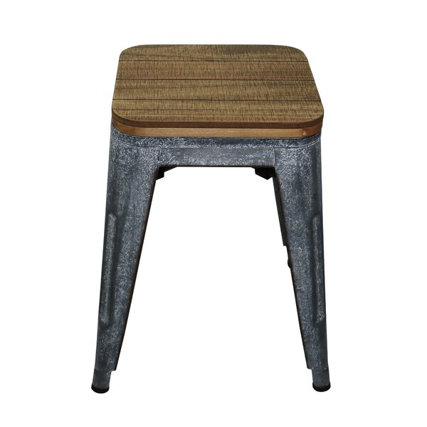 Lafayette Wood Accent Stool by Williston Forge