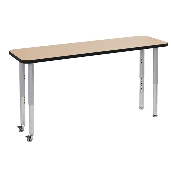 Maple Top Thermo-Fused Adjustable Activity Table by ECR4kids