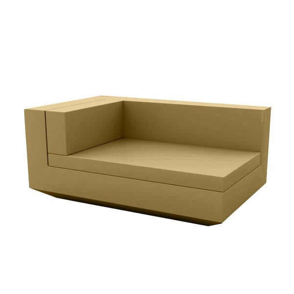 Vela Sectional Left Chaise Lounge with Cushion