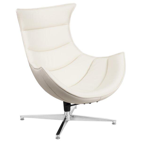 Wyndham Swivel Lounge Chair by Symple Stuff