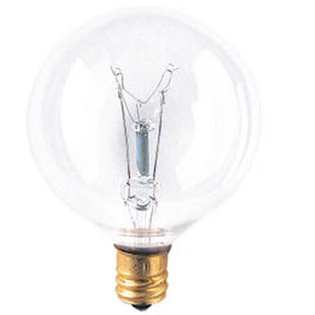 Candelabra 130-Volt Incandescent Light Bulb (Set of 43) by Bulbrite Industries