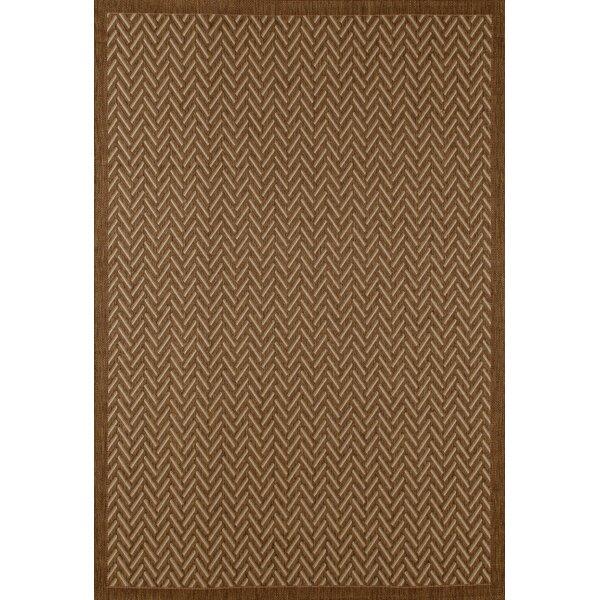 Beaminster Brown Indoor/Outdoor Area Rug by Fleur De Lis Living