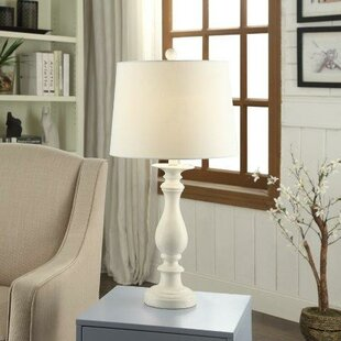 French country table lamps youll love wayfair rossolis polyresin 29 table lamp aloadofball Choice Image