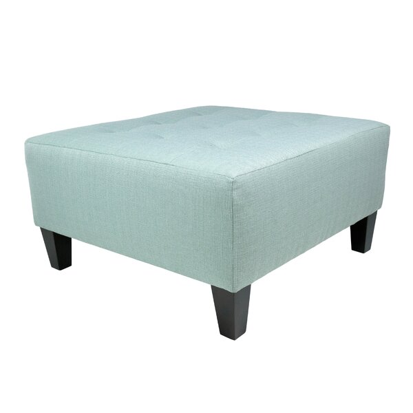Labelle Cocktail Ottoman by Red Barrel Studio