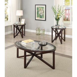 Affordable Price Kratzer 3 Piece Coffee Table Set By Alcott Hill