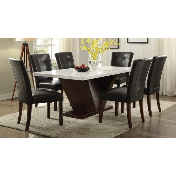 Blackmon 7 Piece Dining Set by Latitude Run