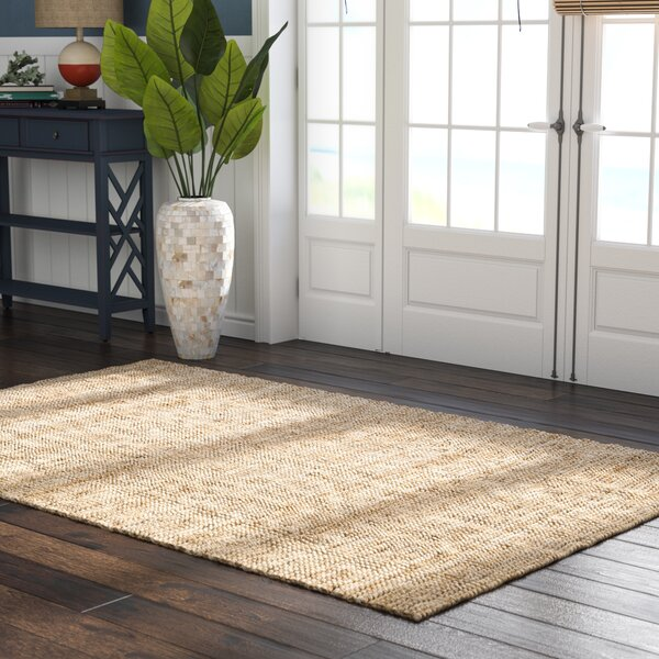 Richmond Hand-Woven Brown Area Rug by Beachcrest Home