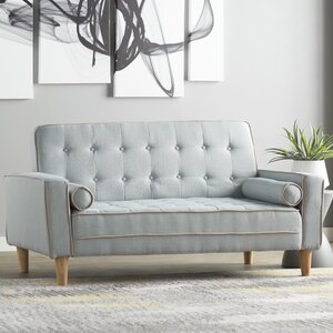 Navi Twill Loveseat by Orren Ellis