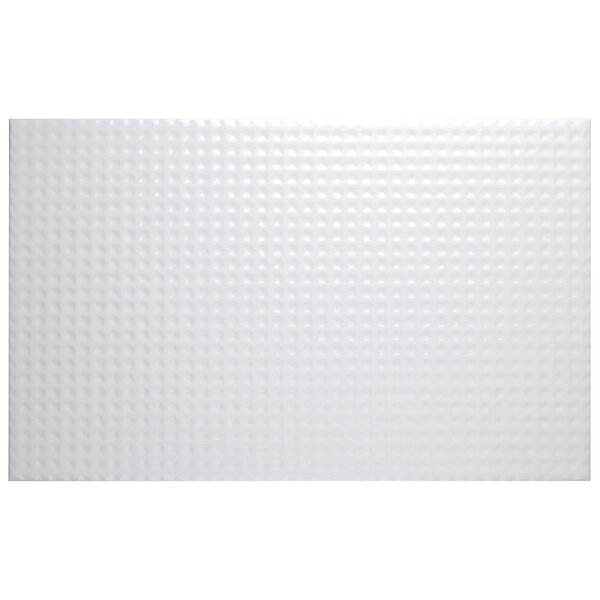 Sosa 15.75 x 9.75 Ceramic Field Tile in White by EliteTile